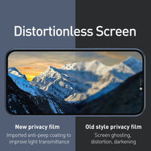Load image into Gallery viewer, AMZER 9H Case friendly Privacy 3D Tempered Glass Screen Protector for iPhone 12 Pro Max - (Pack of 2)