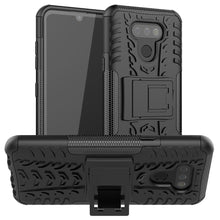 Load image into Gallery viewer, AMZER Hybrid Warrior Kickstand Case for LG Harmony 4/ LG Premier Pro Plus/ LG XPression Plus 3/ LG K41