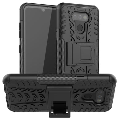 AMZER Hybrid Warrior Kickstand Case for LG Harmony 4/ LG Premier Pro Plus/ LG XPression Plus 3/ LG K41