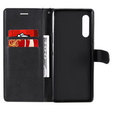 Load image into Gallery viewer, AMZER Horizontal Flip Leather Wallet Case with Card Slot & Lanyard for LG G9/ LG Velvet 5G