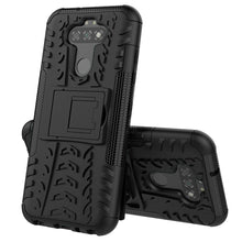 Load image into Gallery viewer, AMZER Hybrid Warrior Kickstand Case for LG K31/ LG Aristo 5/ Aristo 5 Plus/ LG Phoenix 5/ LG K8X/ LG Fortune 3