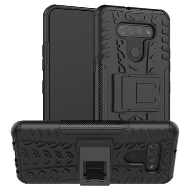 AMZER Hybrid Warrior Kickstand Case for LG K51/ LG Q51/ LG Reflect