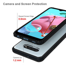 Load image into Gallery viewer, AMZER SlimGrip Hybrid Case for LG K51/ LG Q51/ LG Reflect