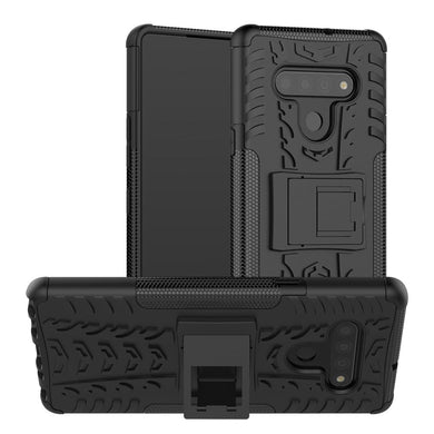 AMZER Hybrid Warrior Kickstand Case for LG Stylo 6