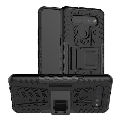 AMZER Hybrid Warrior Kickstand Case for LG K41S / LG K51S