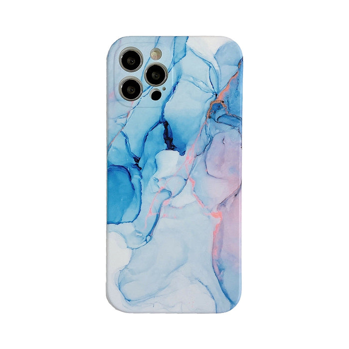 AMZER Marble Pattern Design Soft TPU Protective Case for iPhone 12 Series