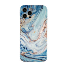 Load image into Gallery viewer, AMZER Marble Pattern Design Soft TPU Protective Case for iPhone 12 Series