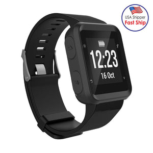 AMZER Soft Silicone Protective Watch Case for Garmin Forerunner 35