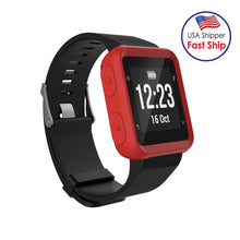 Load image into Gallery viewer, AMZER Soft Silicone Protective Watch Case for Garmin Forerunner 35