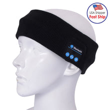 Load image into Gallery viewer, AMZER Knitted Bluetooth Headsfree Sport Music Headband with Mic