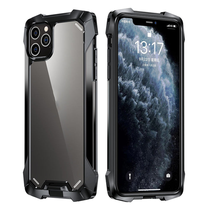 AMZER Metal Airbag Shockproof Protective Case for iPhone 12 Series