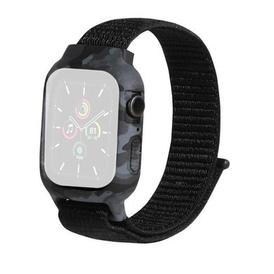 AMZER Nylon Replacement Wrist Strap Watchband For Apple Watch Series 6/5/4/SE 44mm
