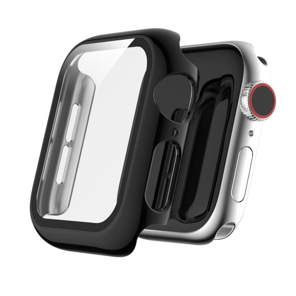 AMZER Full Coverage Plating TPU Case for Apple Watch Series 5/4 44mm