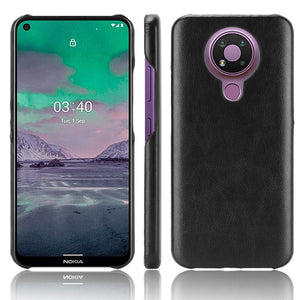 AMZER Shockproof Texture PC + PU Protective Case for Nokia 3.4