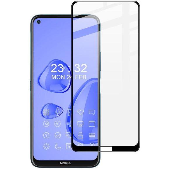 AMZER 9H Full Screen Tempered Glass Film for Nokia 8.3 5G