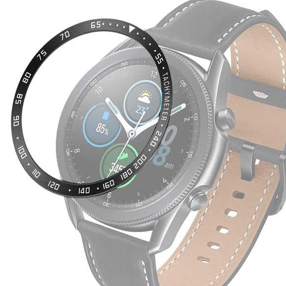 AMZER Steel Bezel Ring Watch Protective Case For Samsung Galaxy Watch 3 45mm