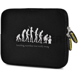 AMZER 7.75 Inch Neoprene Zipper Sleeve Pouch Tablet Bag - Evolution - amzer