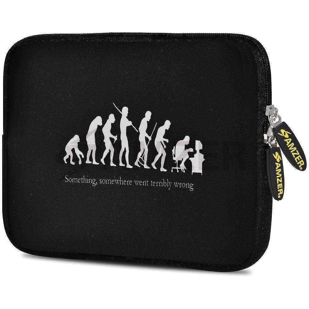AMZER 10.5 Inch Neoprene Zipper Sleeve Pouch Tablet Bag - Evolution - amzer