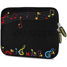 Load image into Gallery viewer, AMZER 7.75 Inch Neoprene Zipper Sleeve Pouch Tablet Bag - The Composer - amzer