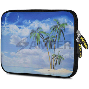 AMZER 7.75 Inch Neoprene Zipper Sleeve Pouch Tablet Bag - Dream Island - amzer