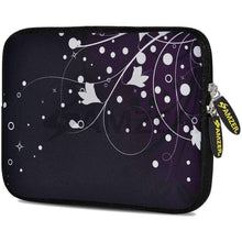 Load image into Gallery viewer, AMZER 7.75 Inch Neoprene Zipper Sleeve Pouch Tablet Bag - Purple Ivy - amzer