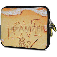 Load image into Gallery viewer, AMZER 10.5 Inch Neoprene Zipper Sleeve Pouch Tablet Bag - Surf Love - amzer