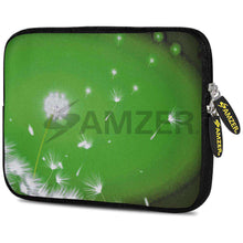Load image into Gallery viewer, AMZER 7.75 Inch Neoprene Zipper Sleeve Pouch Tablet Bag - Green Expanse - amzer