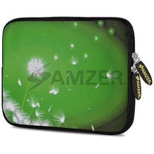 Load image into Gallery viewer, AMZER 10.5 Inch Neoprene Zipper Sleeve Pouch Tablet Bag - Green Expanse - amzer