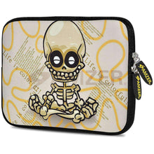 Load image into Gallery viewer, AMZER 7.75 Inch Neoprene Zipper Sleeve Pouch Tablet Bag - Baby Sketch - amzer
