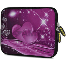 Load image into Gallery viewer, AMZER 7.75 Inch Neoprene Zipper Sleeve Pouch Tablet Bag - Love Shines - amzer