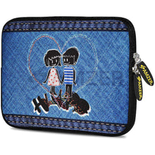 Load image into Gallery viewer, AMZER 7.75 Inch Neoprene Zipper Sleeve Pouch Tablet Bag - Together Always - amzer