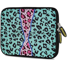 Load image into Gallery viewer, AMZER 7.75 Inch Neoprene Zipper Sleeve Pouch Tablet Bag - Blue Safari - amzer