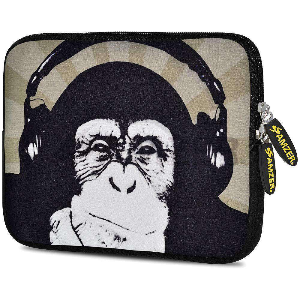 AMZER 7.75 Inch Neoprene Zipper Sleeve Pouch Tablet Bag - Ape Music