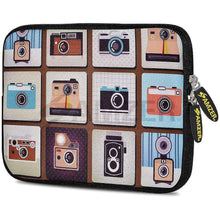Load image into Gallery viewer, AMZER 7.75 Inch Neoprene Zipper Sleeve Pouch Tablet Bag - Click a Click - amzer
