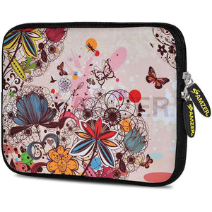 AMZER 7.75 Inch Neoprene Zipper Sleeve Pouch Tablet Bag - Autumn - amzer