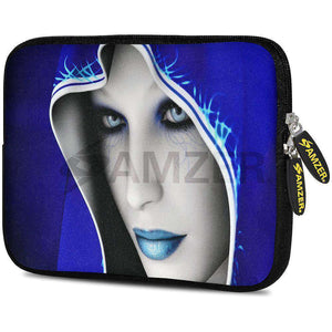 AMZER 7.75 Inch Neoprene Zipper Sleeve Pouch Tablet Bag - Peaceful - amzer
