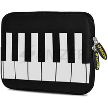 Load image into Gallery viewer, AMZER 7.75 Inch Neoprene Zipper Sleeve Pouch Tablet Bag - Keyboard Keys - amzer