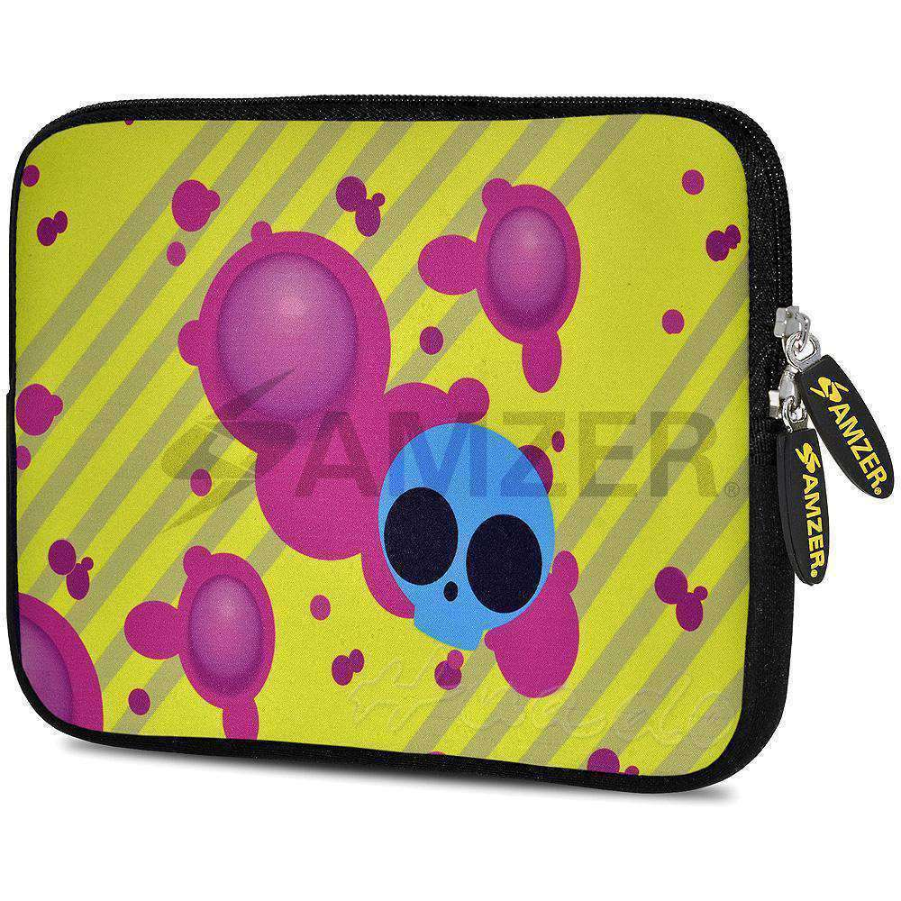 AMZER 10.5 Inch Neoprene Zipper Sleeve Pouch Tablet Bag - Eyes On trend - amzer