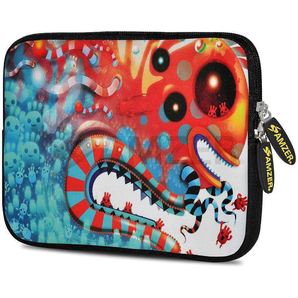 AMZER 10.5 Inch Neoprene Zipper Sleeve Pouch Tablet Bag - Desert Magic - amzer