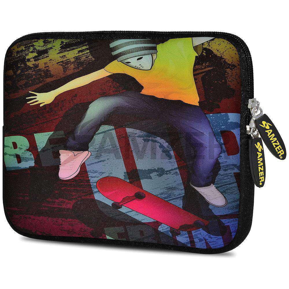 AMZER 7.75 Inch Neoprene Zipper Sleeve Pouch Tablet Bag - Sleek - amzer