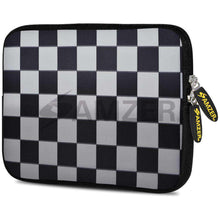 Load image into Gallery viewer, AMZER 7.75 Inch Neoprene Zipper Sleeve Pouch Tablet Bag - Chess Mate - amzer
