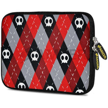 Load image into Gallery viewer, AMZER 7.75 Inch Neoprene Zipper Sleeve Pouch Tablet Bag - Cross Check - amzer