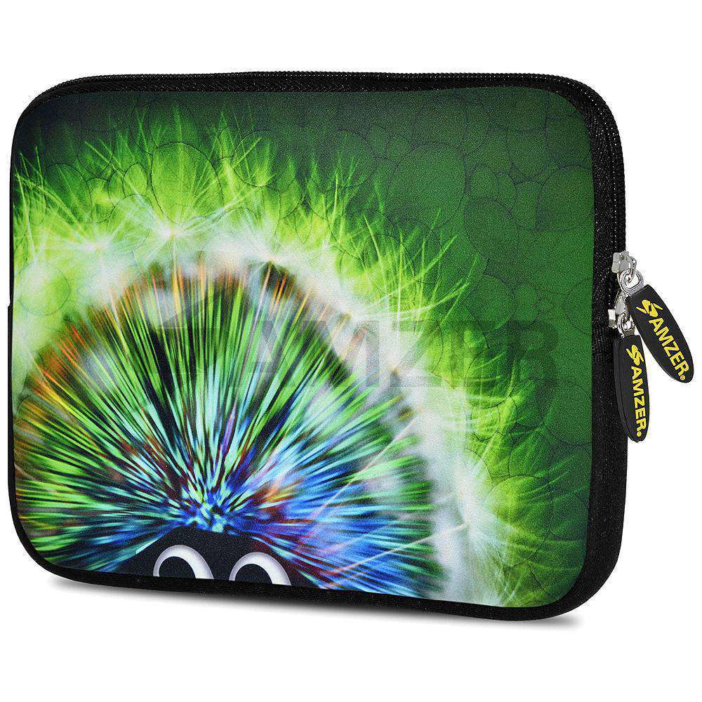 AMZER 7.75 Inch Neoprene Zipper Sleeve Pouch Tablet Bag - Curious Eyes - amzer