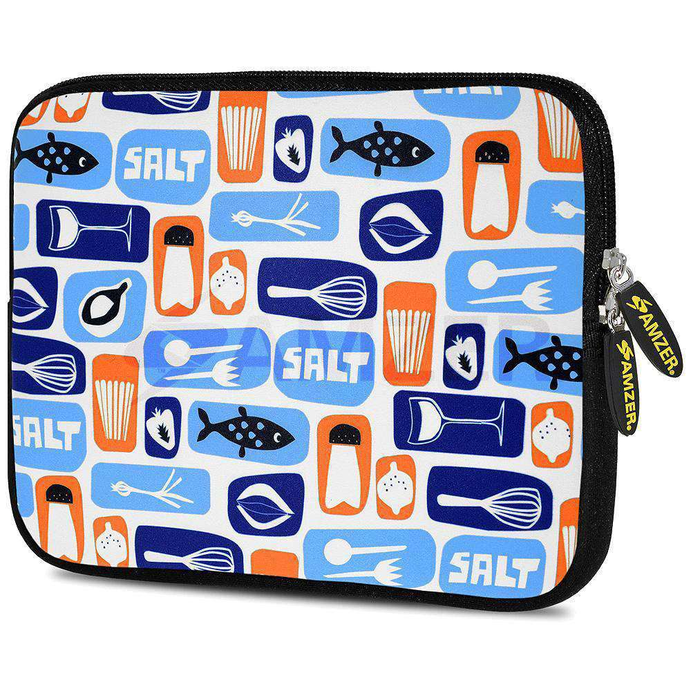 AMZER 7.75 Inch Neoprene Zipper Sleeve Pouch Tablet Bag - Master Chef Tools