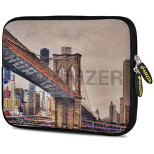Load image into Gallery viewer, AMZER 7.75 Inch Neoprene Zipper Sleeve Pouch Tablet Bag - Bridge Link - amzer
