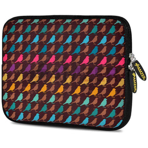 AMZER 10.5 Inch Neoprene Zipper Sleeve Pouch Tablet Bag - Serengeti Shades - amzer
