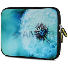 Load image into Gallery viewer, AMZER 7.75 Inch Neoprene Zipper Sleeve Pouch Tablet Bag - Dandelion Close By - amzer