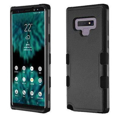 AMZER® TUFFEN Hybrid Phone Protector Cover - Black/Black for Samsung Galaxy Note9 - amzer