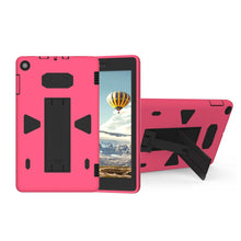 Load image into Gallery viewer, AMZER PC+Silicone Shockproof Protective Back Cover Case With Holder For Amazon Kindle Fire HD 8 2017