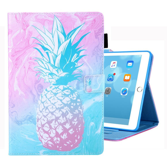 AMZER Coloured Drawing Pattern Horizontal Flip Case with Holder/ Card Slots/ Photo Frame for iPad 10.2/iPad 8th Generation 10.2 inch
